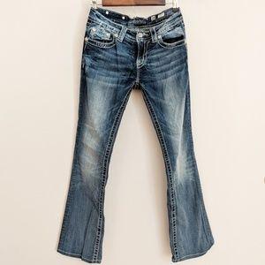 Miss Me Medium Wash Bootcut Jeans Size 27